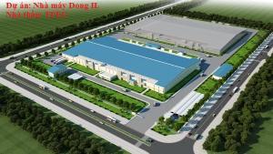 Lắp đặt hệ thống Cơ - Điện Nhà máy Dong IL